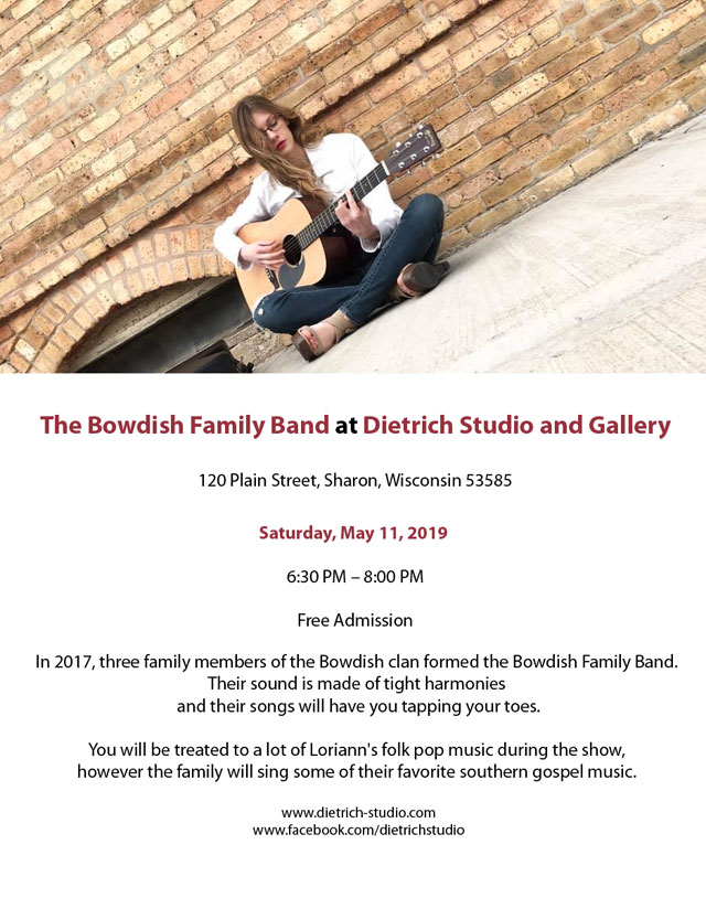 Bowdish Family Music at Dietrich Studio and Gallery